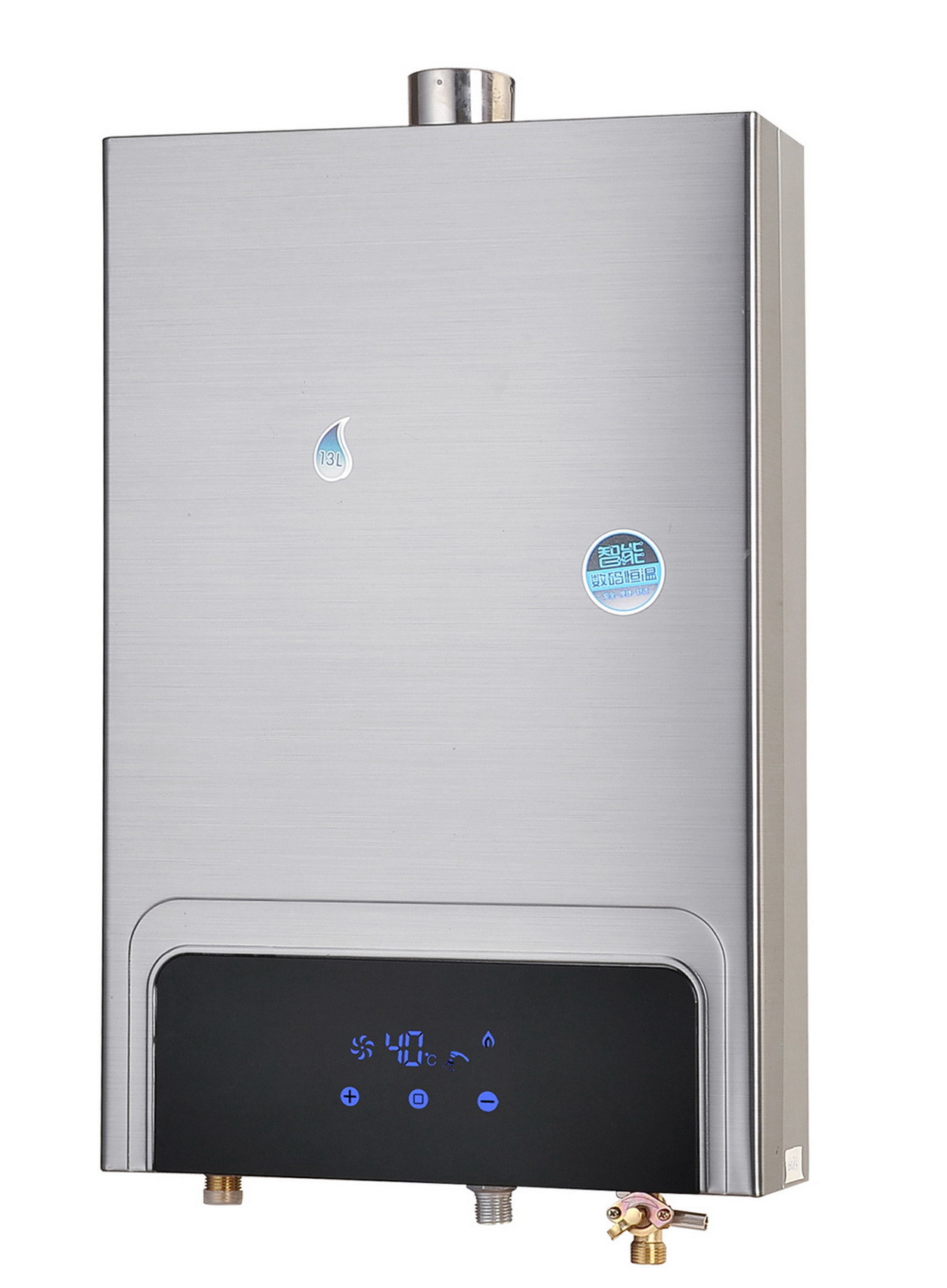 Balance Exhaust Gas Water Heater with S/S Shell Jsg-Hw-Ln83 (8-12L)