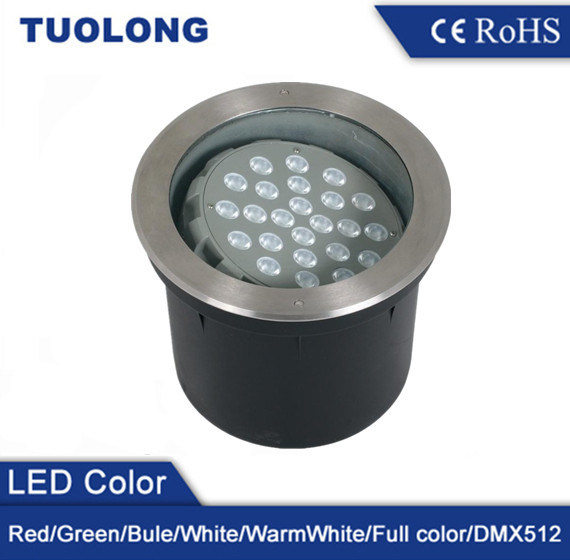High Lumen CREE LED Chip 24W Beam Angle Adjustable 24W LED Underground Light