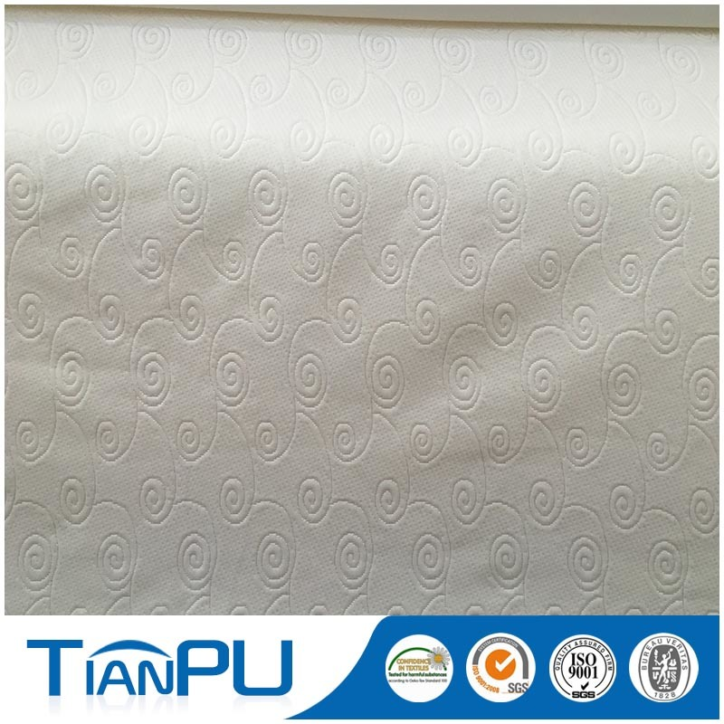 Jacquard Knitted Mattress Ticking Fabric for Hot Sale
