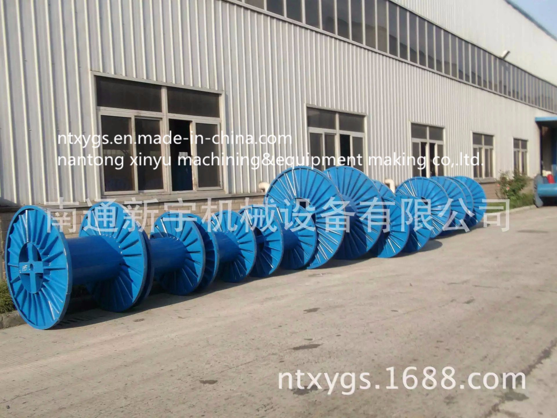 blue Reel for Steel Wire