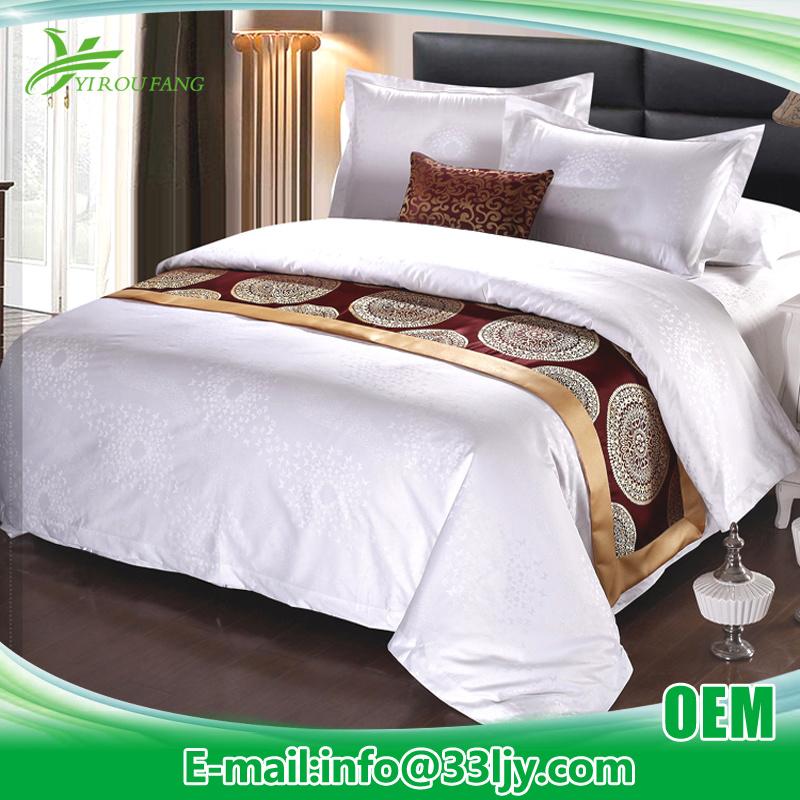 OEM Luxury 100% Cotton Duvet Set with Jacquard