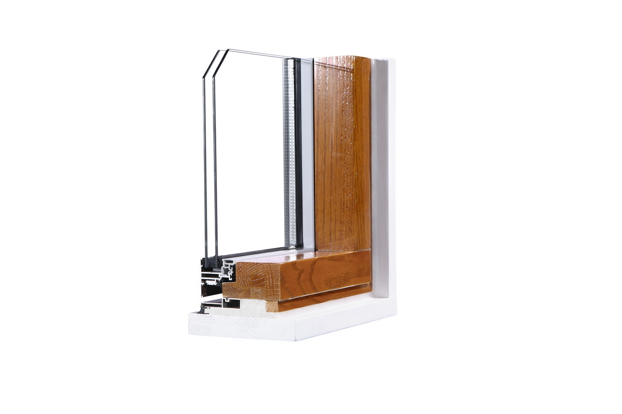 Hot Sale Aluminum Clad Wood Window