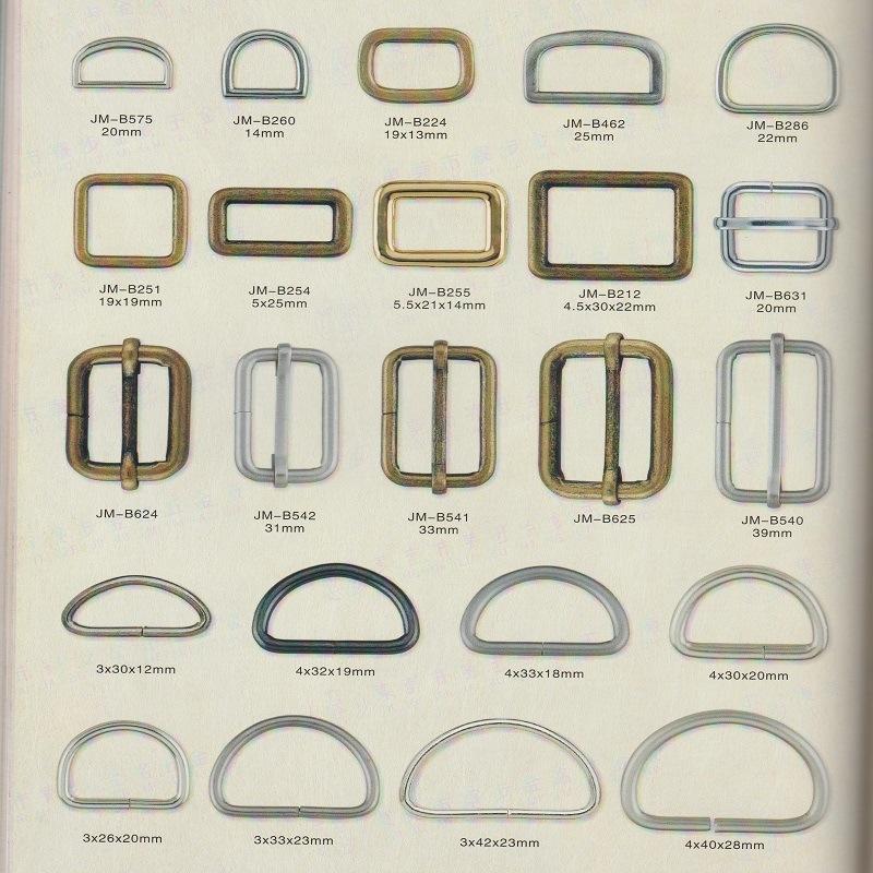 Zinc Alloy Buckle for Shoe Accessories