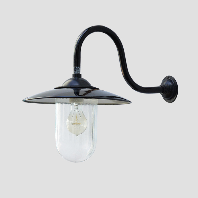 Edison Lamp Vintage Style Enamel Wall Lamp for outdoor