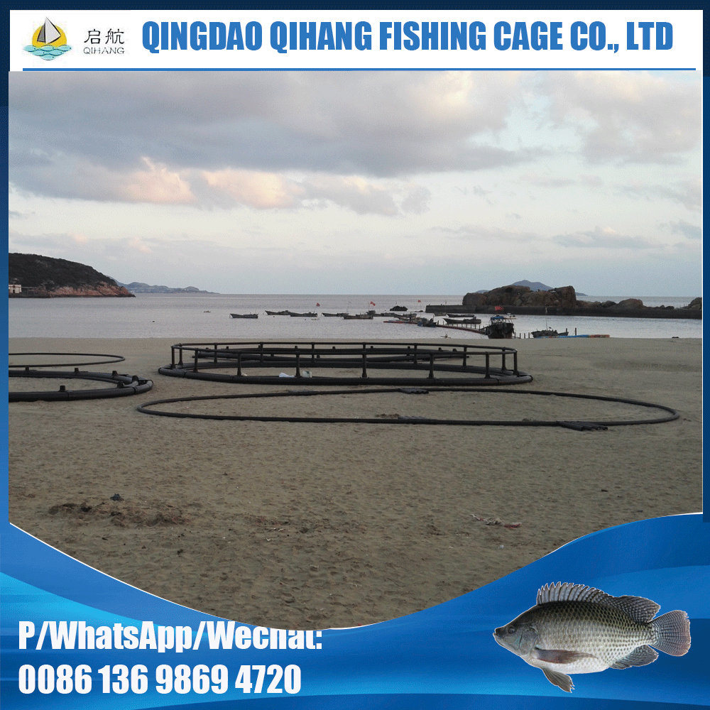 Deep Sea Opening Circular Aquaculture Fish Cage