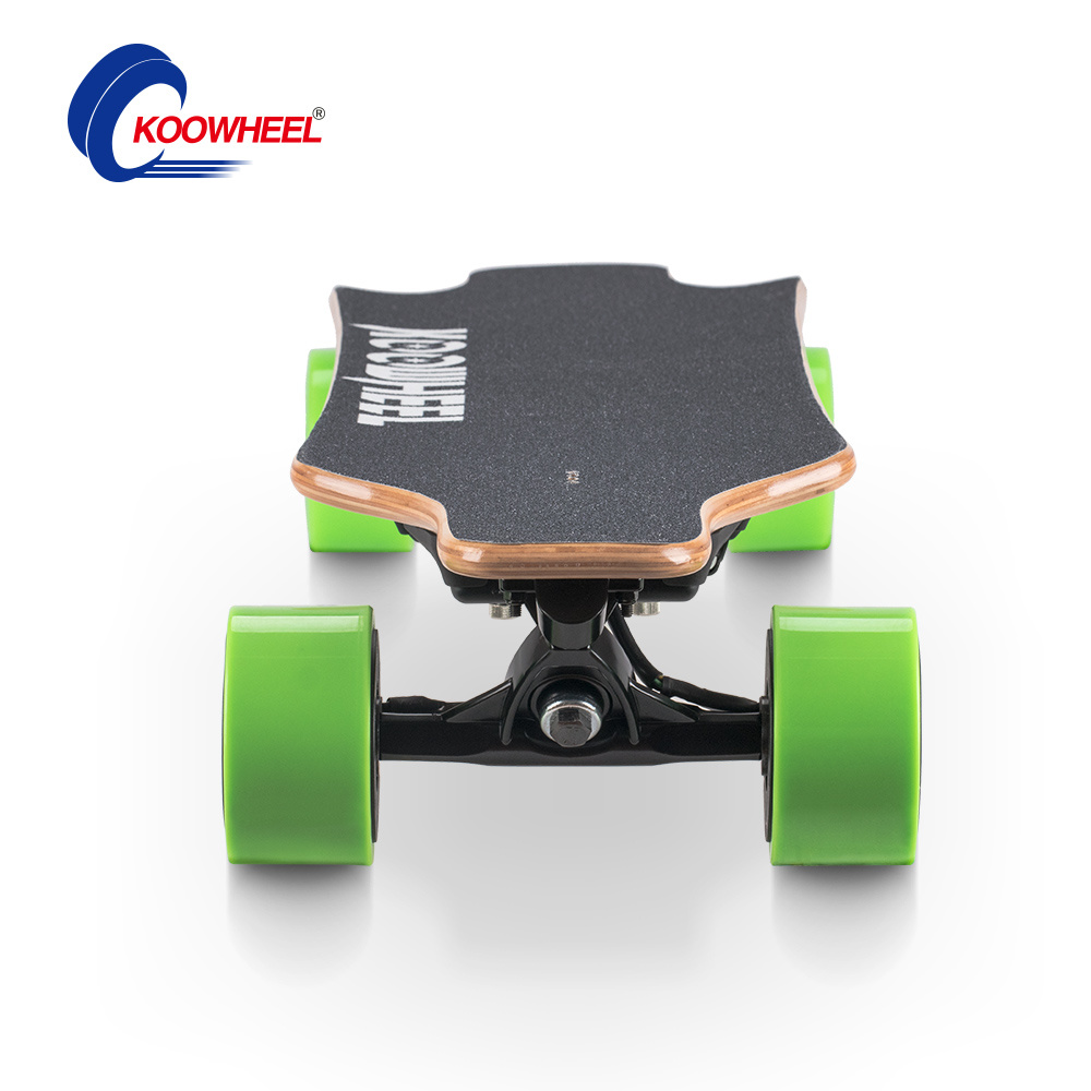 Dual 500W Hub Motor Electric Skateboard with 100% Canadian Maple