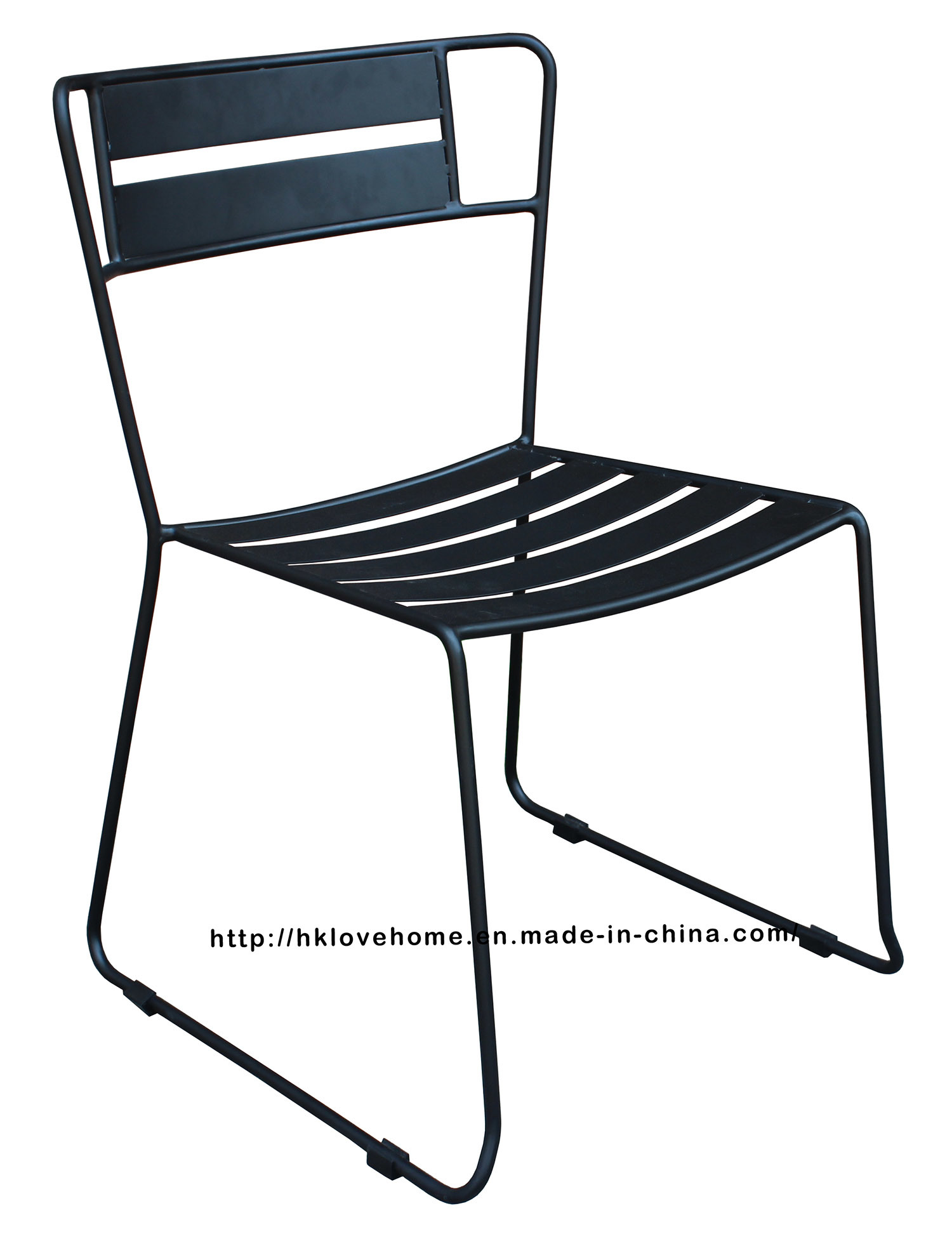 Modern Metal Restaurant Furniture Side Steel Dining Chair