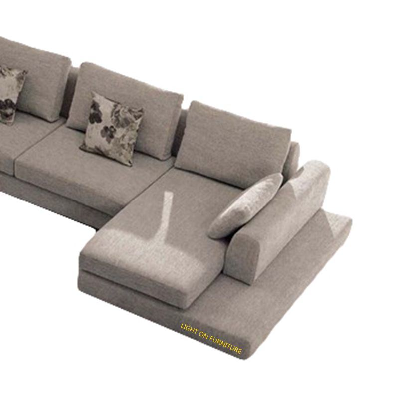 European Style Modern U Shape Fabric Sofa (F832)