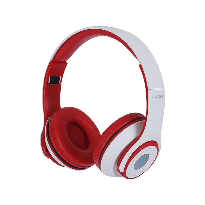 Red High-End Headset New Headphones