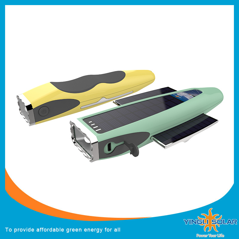 Foldable Solar Lighting with LED Flashlight (SZYL-ST-205)
