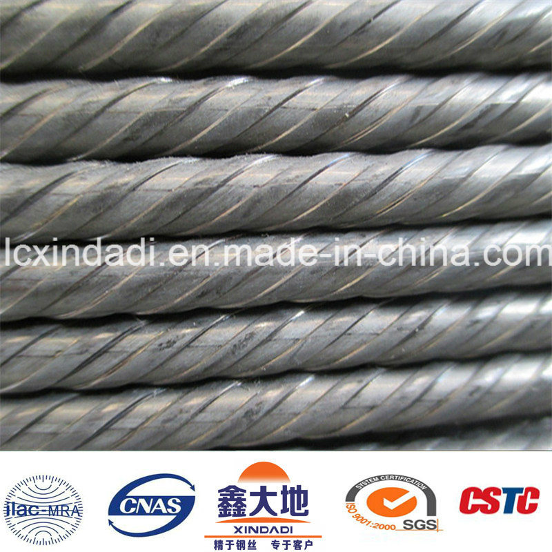 8.0mm Spiral High Carbon Steel Wire for Concrete Product Project
