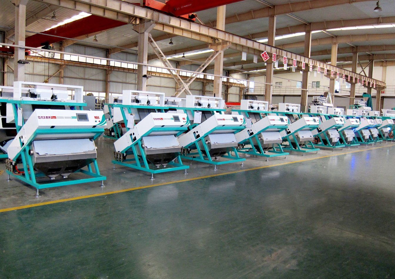 Hons+ Easily Operate System China Manufacturer Rice Color Sorter Machine, Small Rice Mill
