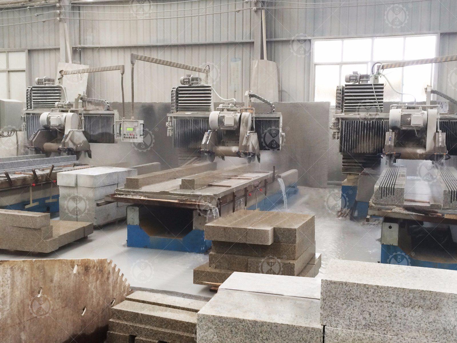 Cnfx-1300 Marble Granite CNC Profiling Linear Stone Cutting Machine