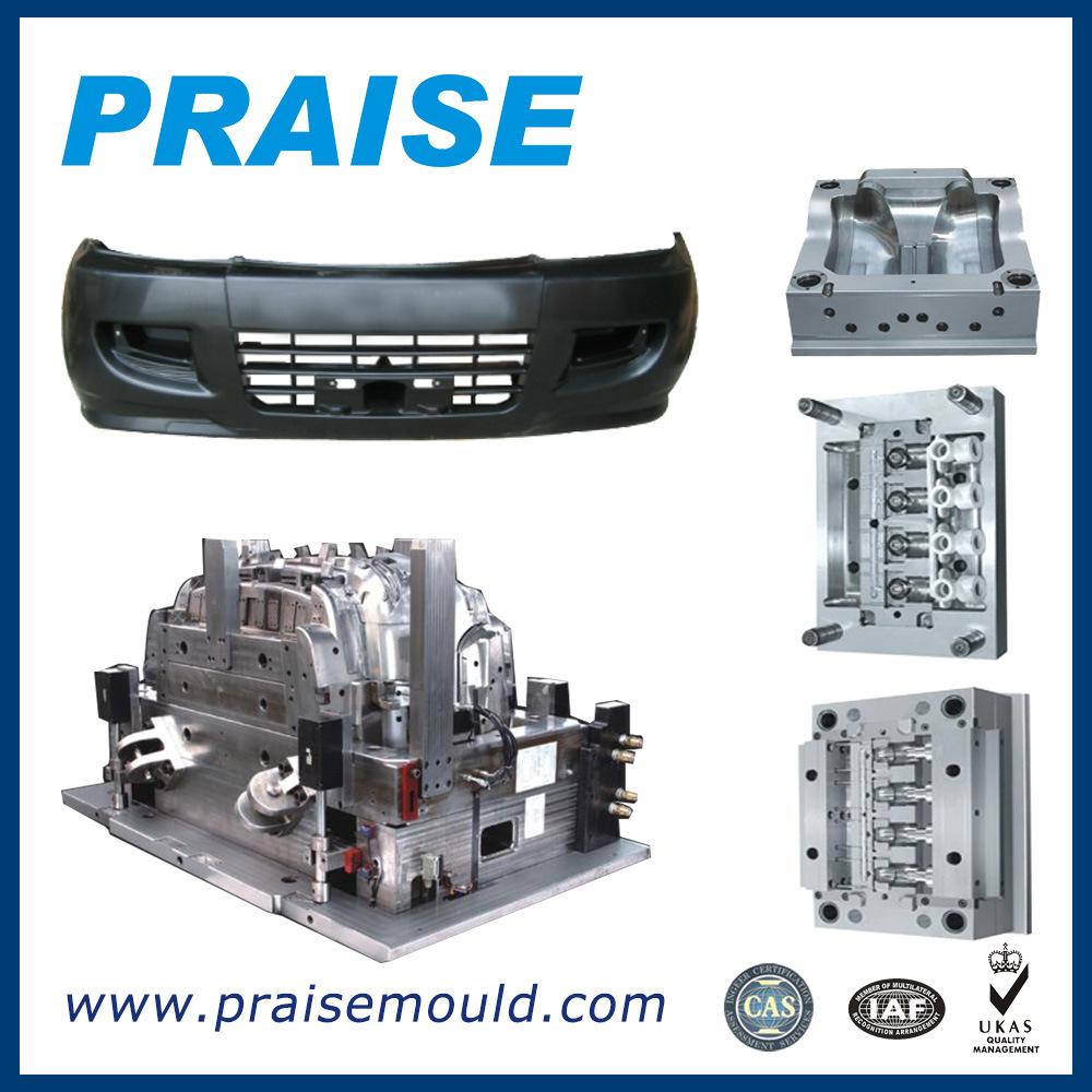 plastic Injection Molding, Auto Bumper Part/Car Bumper Molding