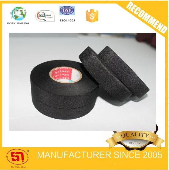 High Tempertature High Wear Resistant Fiber Cloth Tape for Auto Use
