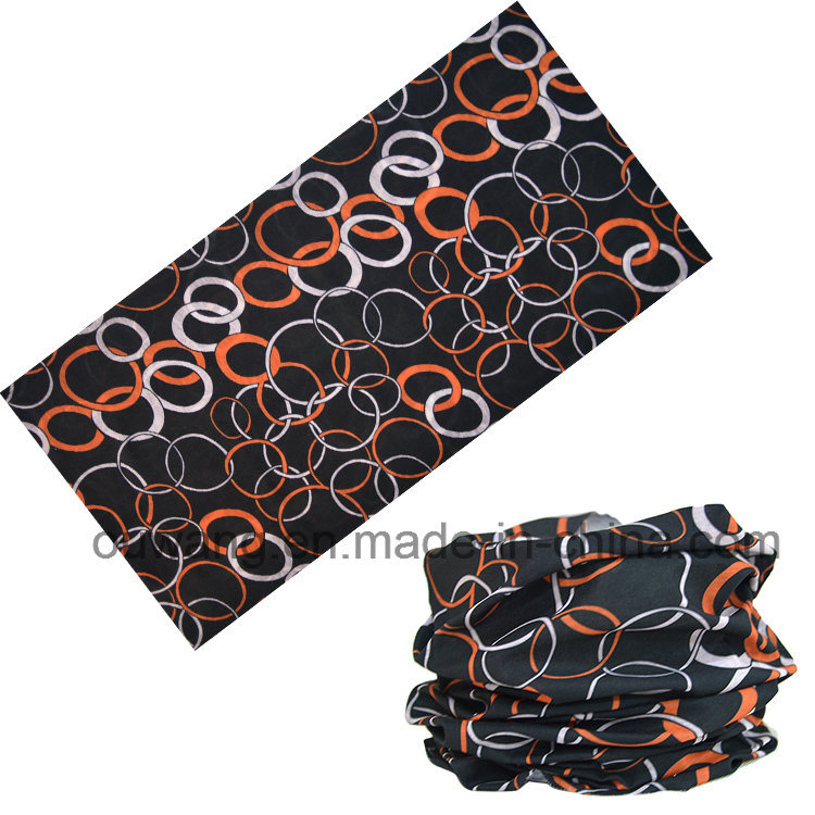 Seamless Tube Outdoor Multifunctional Bandana 100% Microfibre Polyester