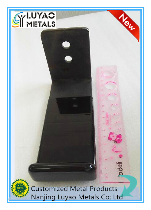 Metal Stamping, Made of Carbob Steel, Deep Coating Finish