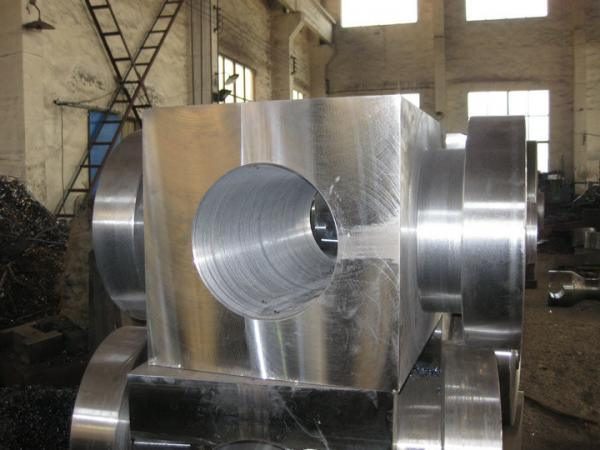 5CrNiMo Heavy Offshore Oil Forging Moduls High Strength