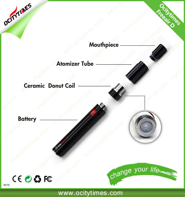 Ocitytimes Manufacture Freeair-D Wax Pen Dry Herb Vaporizer