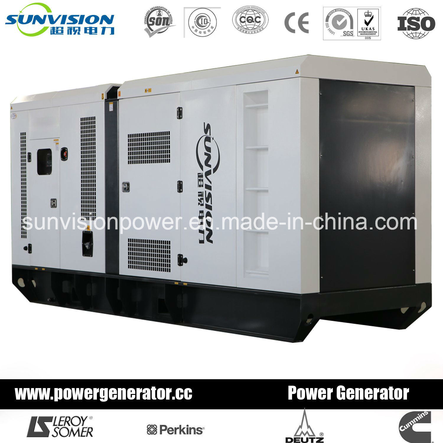 700kVA Generator Set with Soundproof Enclosure