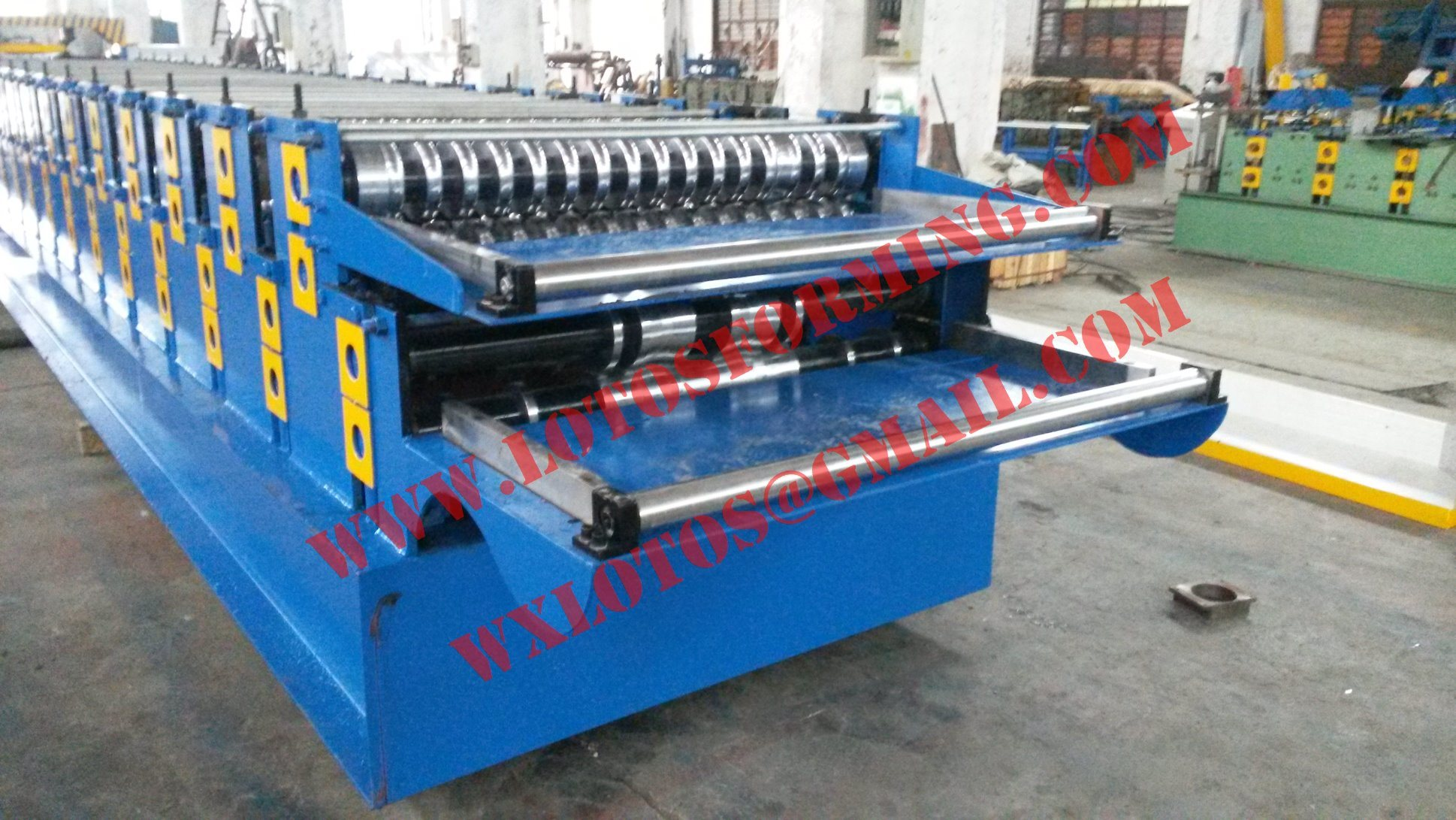New Style Double Layer Roll Forming Machine Lts-1703