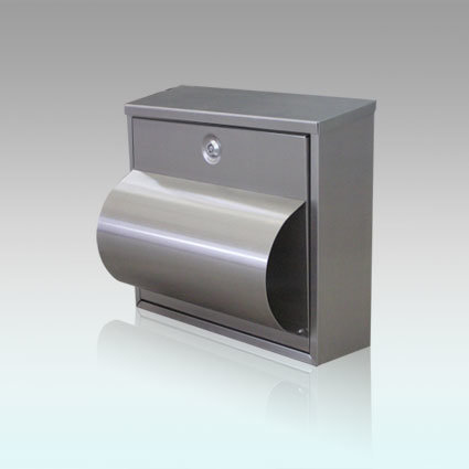 Gh-3301 Stainless Steel Wall Mounted Mailbox