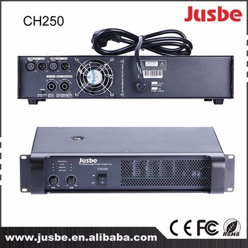 Jusbe CH-250 Class H 250W 250-400 Watts Professional Conference Music Stage High Quality Sound System Amplifier Price