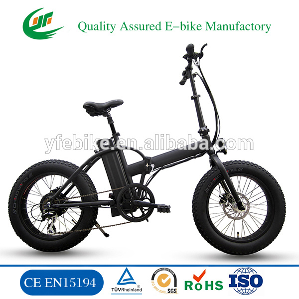 "20"" 4.0 Fat Tyre High Power Mini Green City Electric Bicycle"