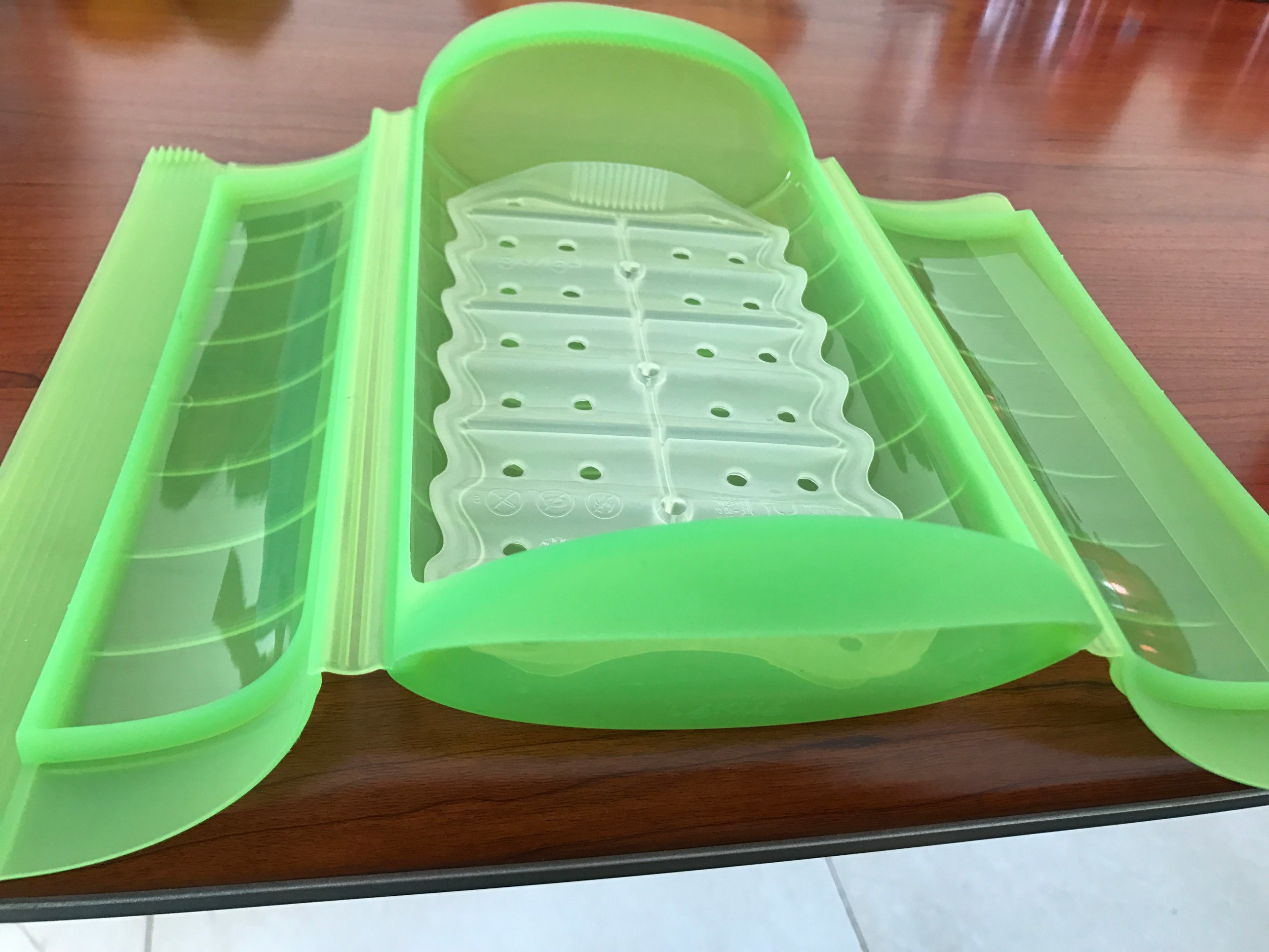 Plastic Silicone Steam Case/Box/Container for Microwave Usage