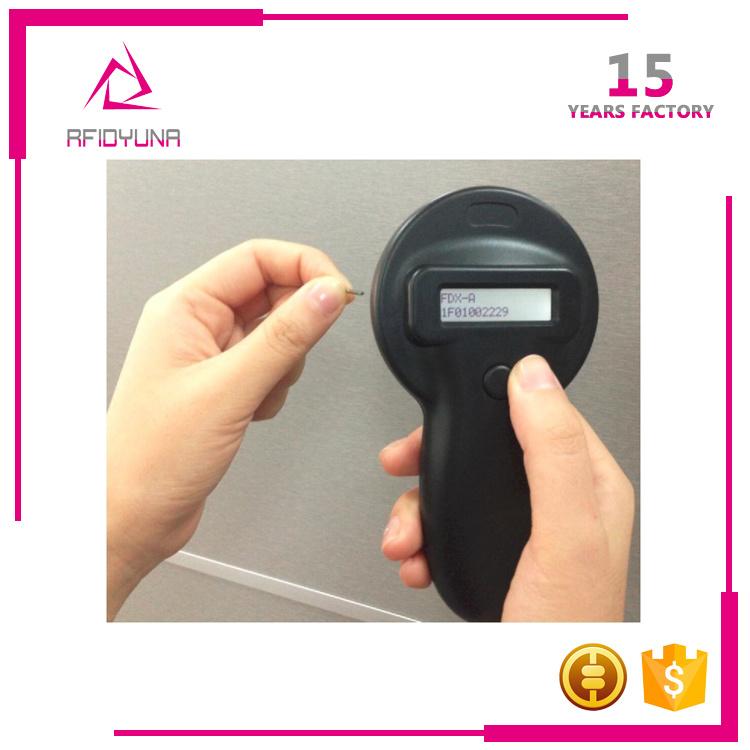 Fdx-B 11784 / 785 125kHz 134.2MHz Animal Handheld RFID Reader