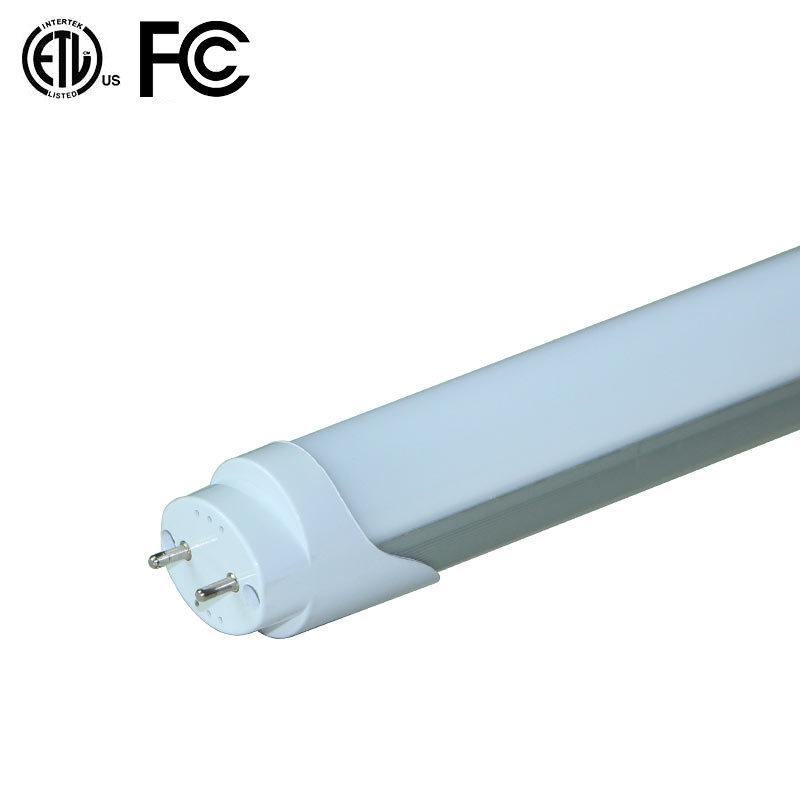 PC Aluminum Frosted Cover 2FT 3FT 4FT 5FT T8 LED Tube Lighting ETL Ce RoHS