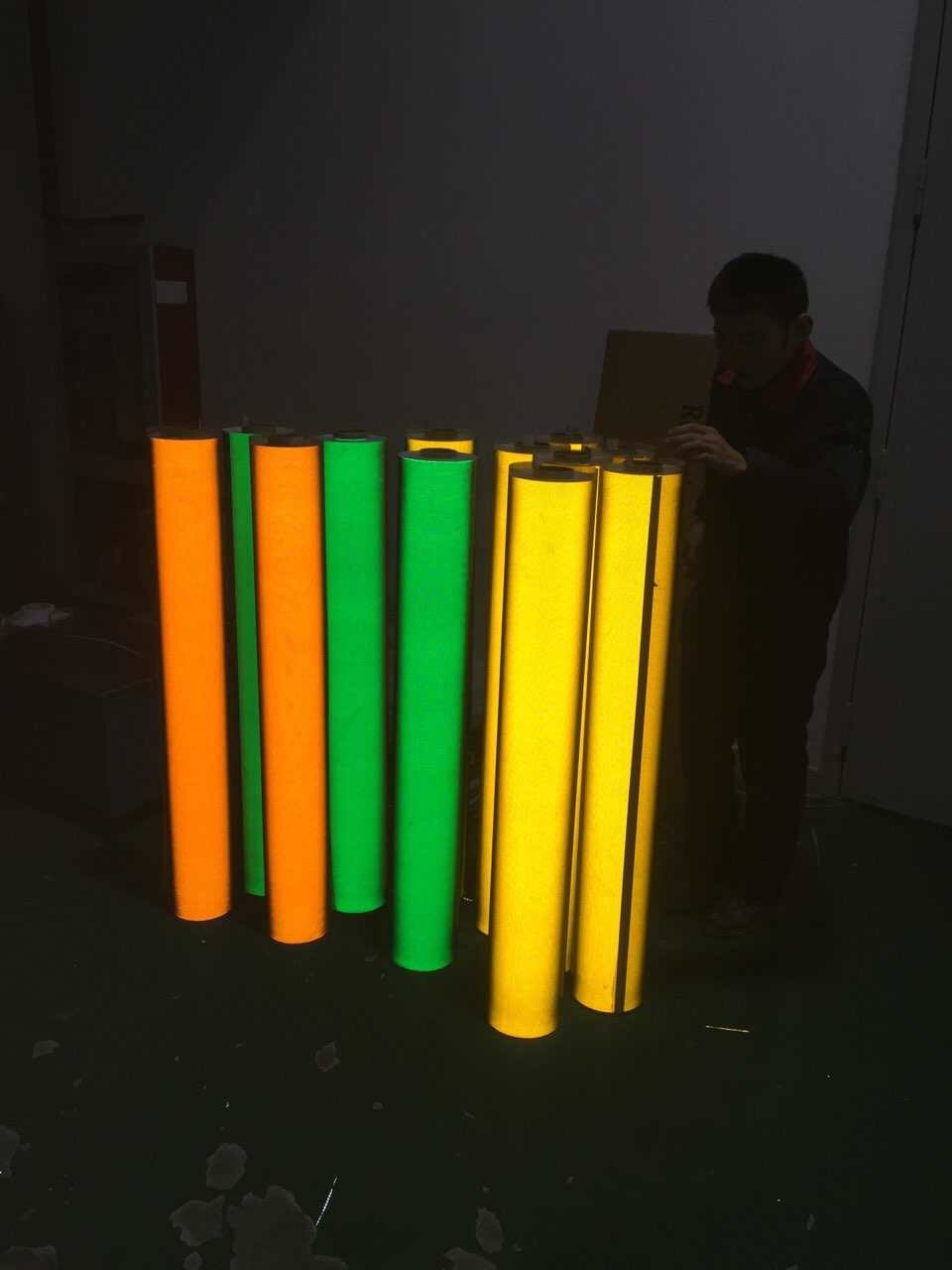 Advertisement Grade 3200 Acrylic Reflective Sheeting