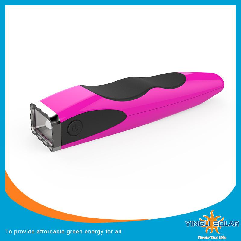 Foldable Solar Lighting with LED Flashlight (SZYL-ST-205)