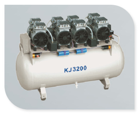 Oilless Dental Air Compressor (KJ-2000)