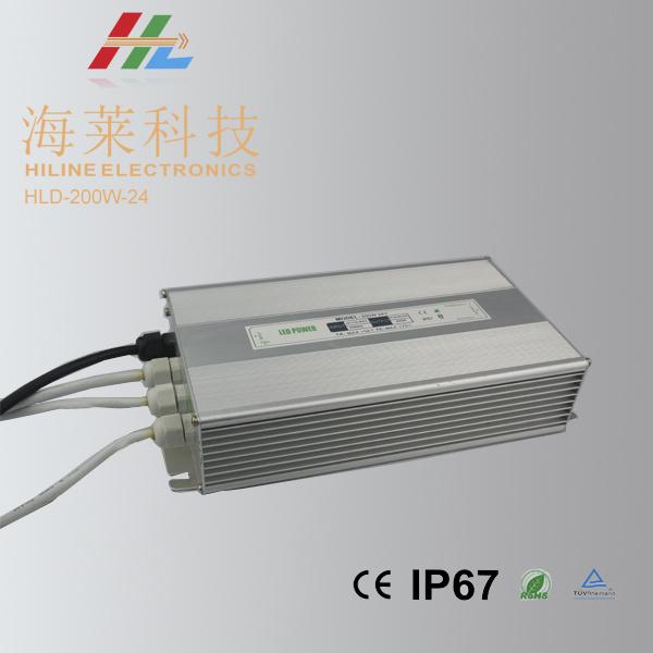 LED Driver 24V 200W Waterproof