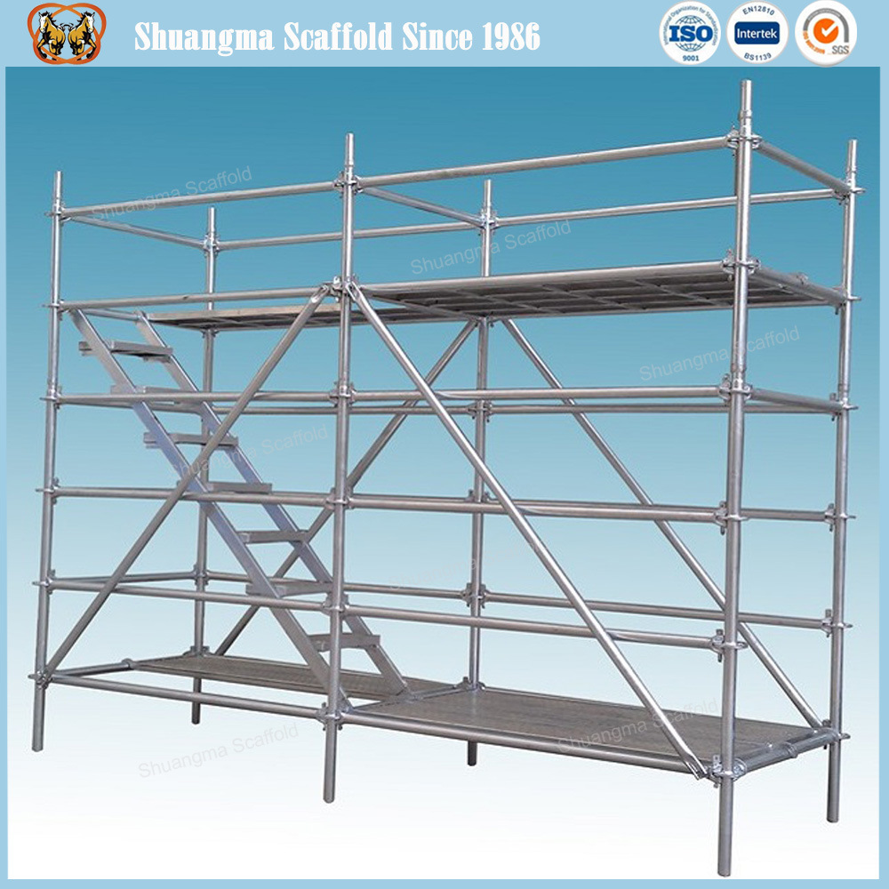 En12810 Standard and SGS Certified Steel Ringlock Scaffolding