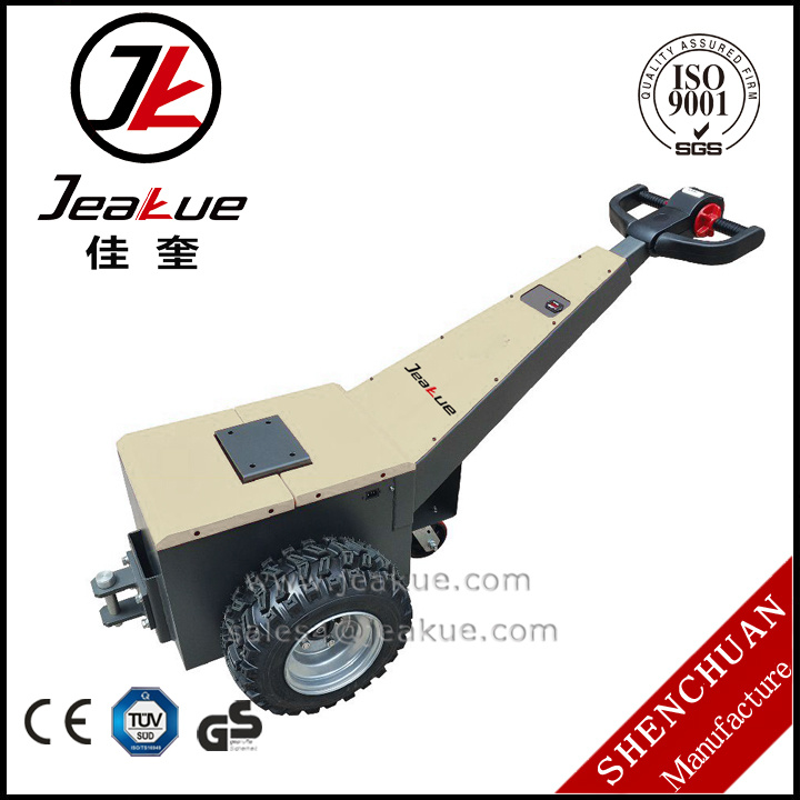 Jeakue Walking 1.5t Electric Tow Tractor Trailer Walking Tractor