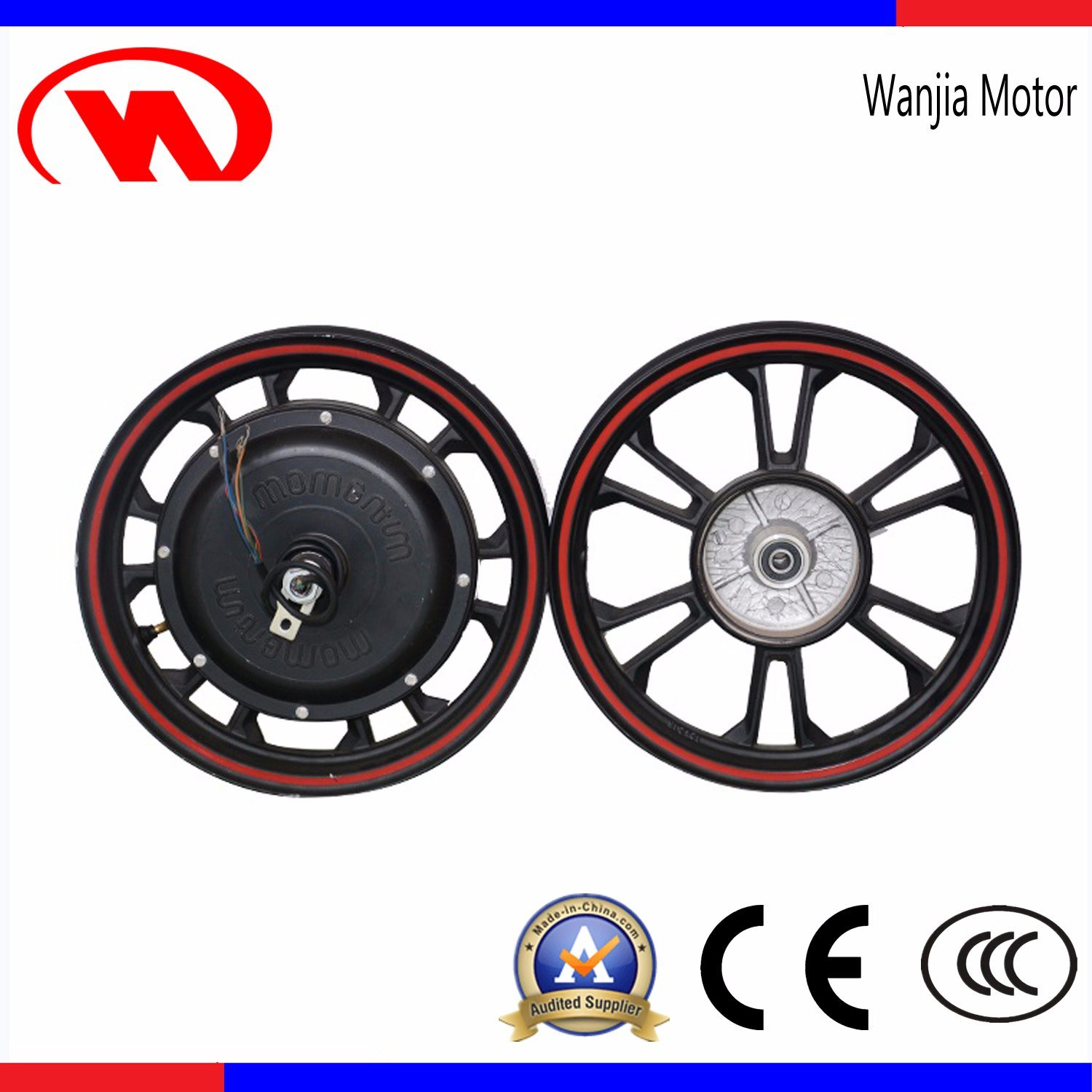 22 Inch 133s Brushless Hub Motor for Electric Bike