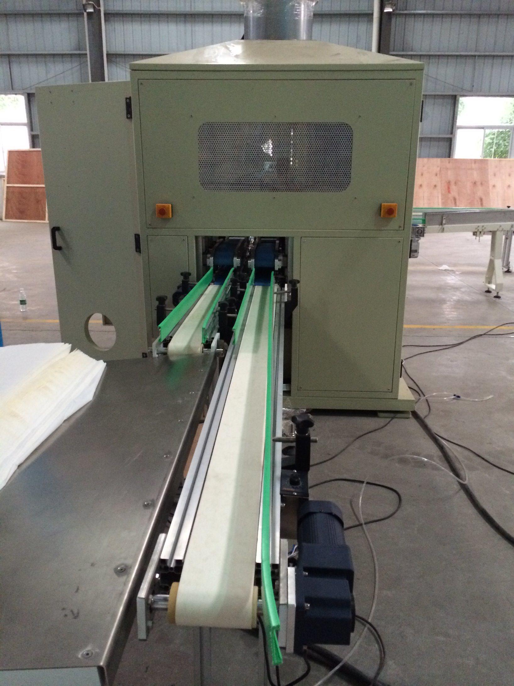 Tissue Log Saw Cuttimg Machine