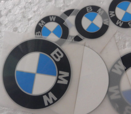 Silicone Heat Transfer Stickers Printing Label