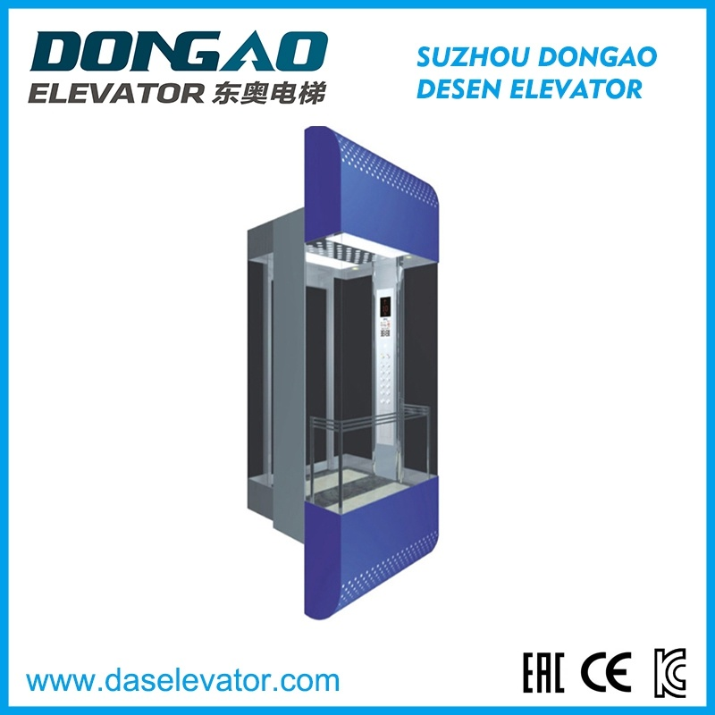 Observation Lift Home Lift with Good Quality Glass Sightseeing