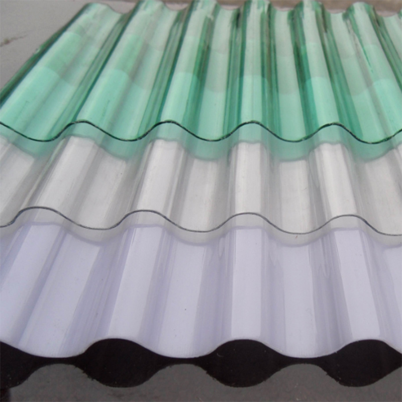 Xinhai PC Polycarbonate Sheet Solid Corrguated Sheet Hollow Sheet for Construction