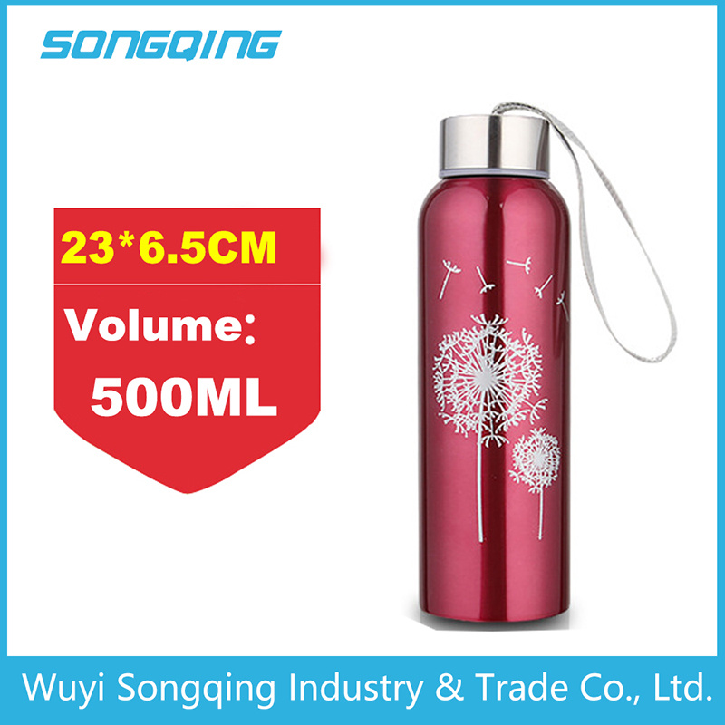 Double Wall Stainless Steel Thermos Sports Bottle