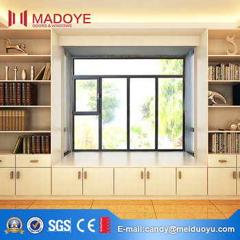 Aluminium Frosted Glass Bathroom Window for House