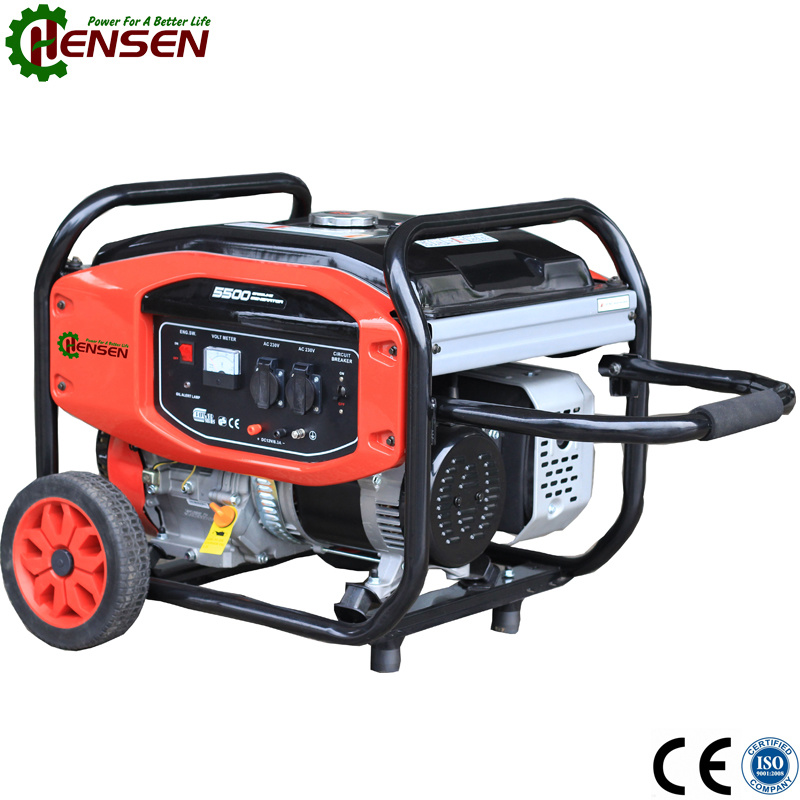 New Design Gasoline Engine Powered 2kw Gasoline Generator