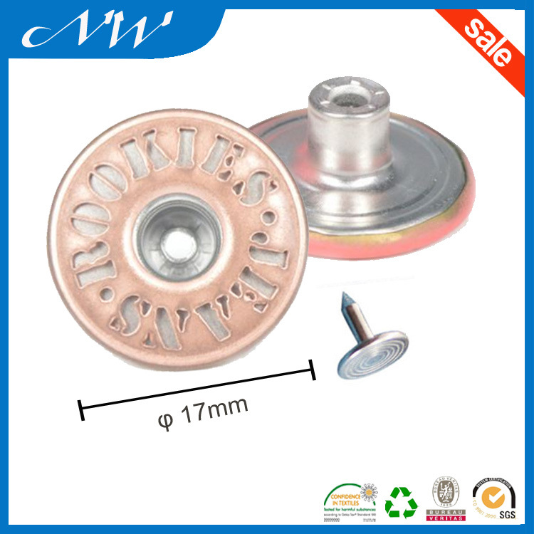 Top Quality Fashion Shank Buttons for Jeans