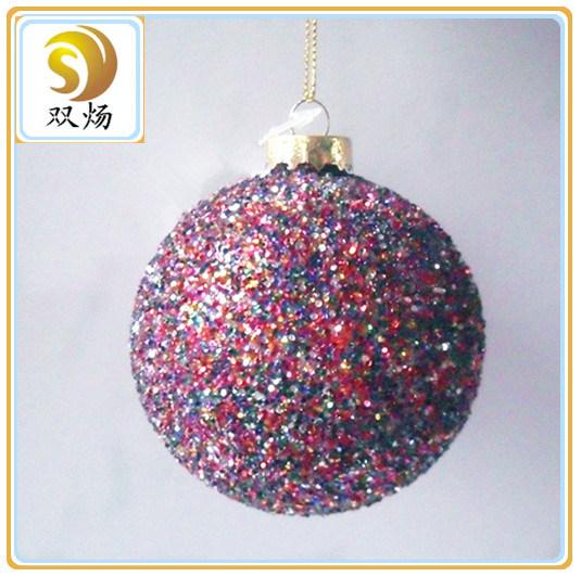 Christmas Glass Ball for Christmas Gift