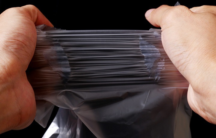 Clear Plastic Food Bag on Roll / HDPE Plastic Bag