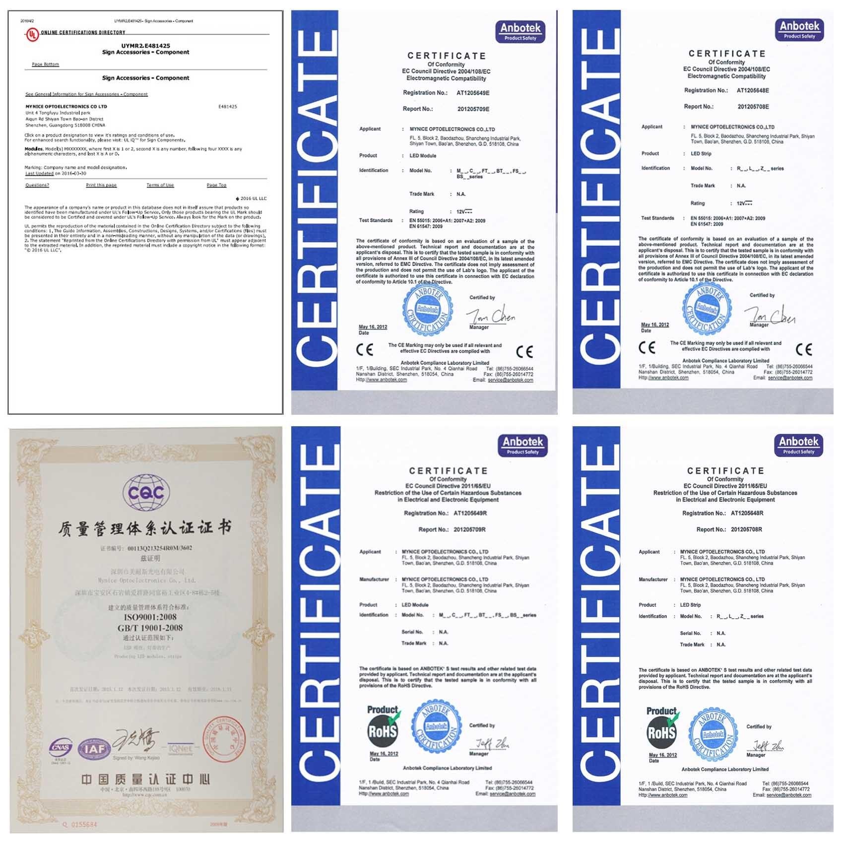 Osram 3030 DC24V High Brightness LED Rigid Bar with Ce RoHS UL Certificates 3 Years Warrenty