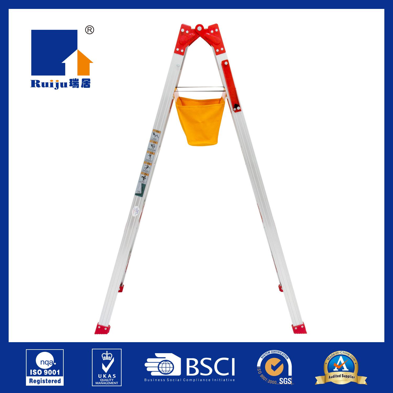 Aluminium Dual Ladder with Tool Bag